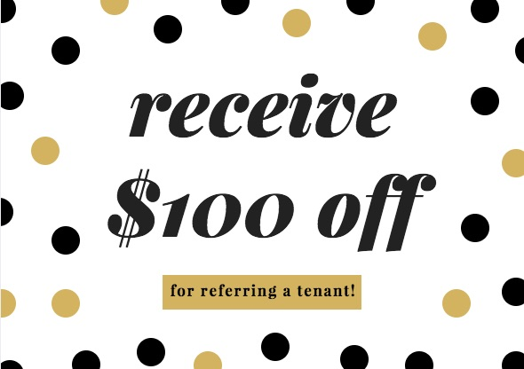 If you know of anyone looking for office space, refer them to us and you'll get $100 off your next month's rent! Shoot us an email for more details!