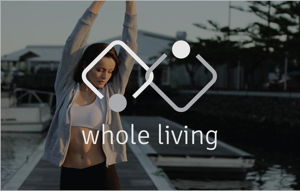 WHOLE LIVING |  Brand Strategy, Logo Design, Brochure