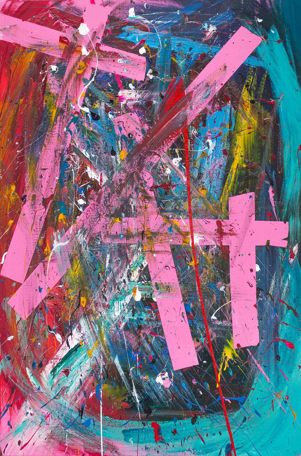 #9 / 60x90 on canvas