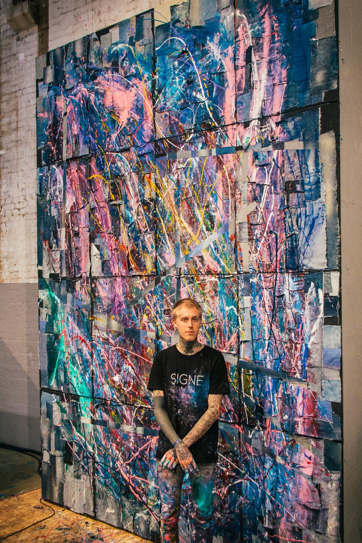 Live-Art Performance, Amsterdam 2017