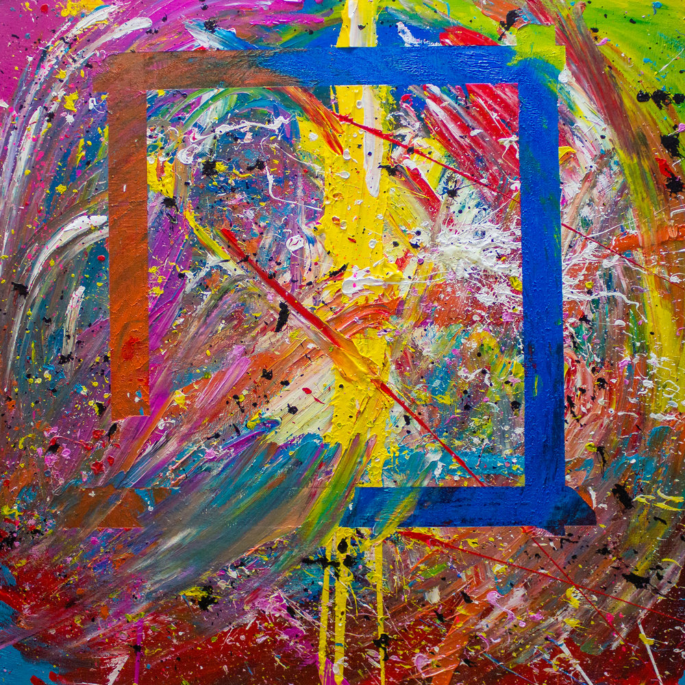 #18 / 90x90 on canvas