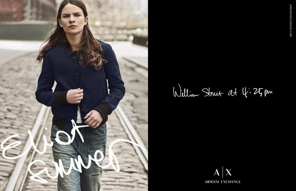 Armani Exchange FW 2016