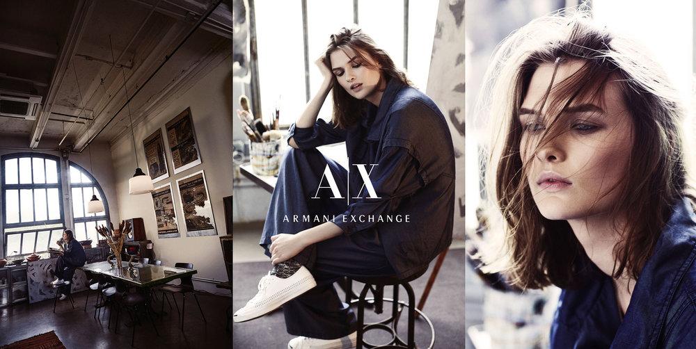 Armani Exchange FW 2015