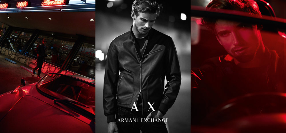 Armani Exchange SS 2015