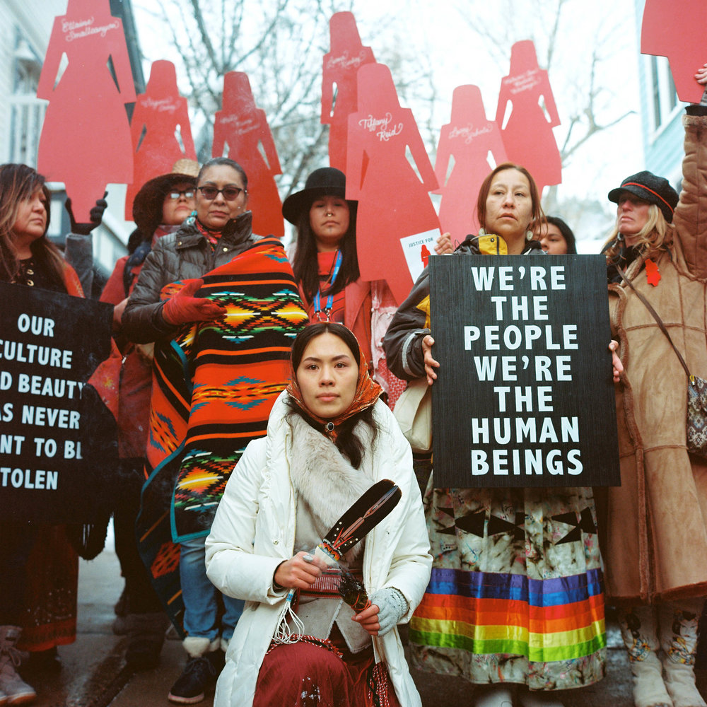 Photo By: Jonathan Canlas MMIW Gathering at Sundance Film Festival
