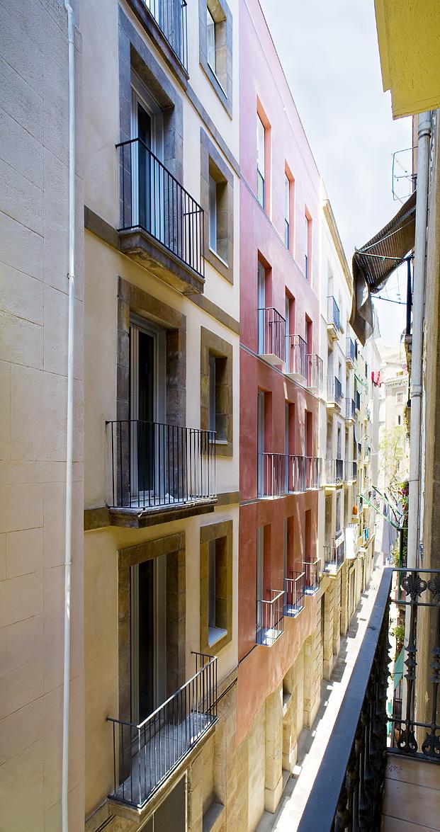 Viviendas protecci�n oficial en Sant Pere Mitj� � RCG Arquitectura