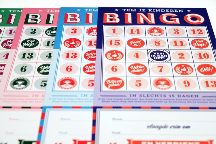 stratier bingo kaarten beloning kinderen