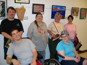 Artists at Artists Open Studio