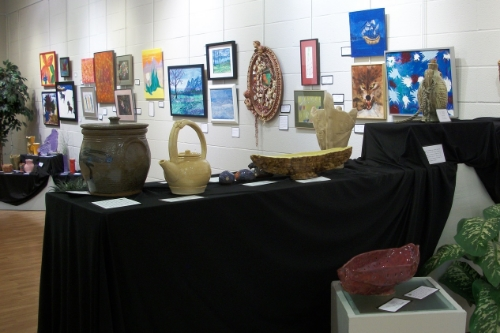 Art Gallery of Artists Open Studio Art Work