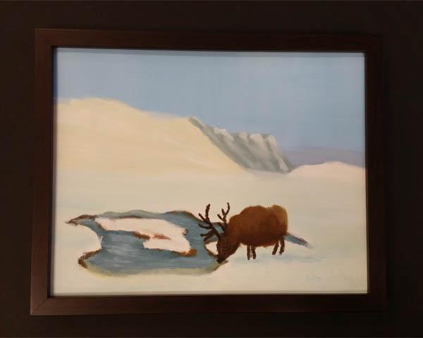 Thirsty Elk