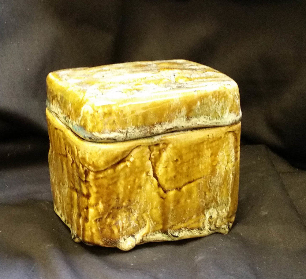 Agate Lidded Box