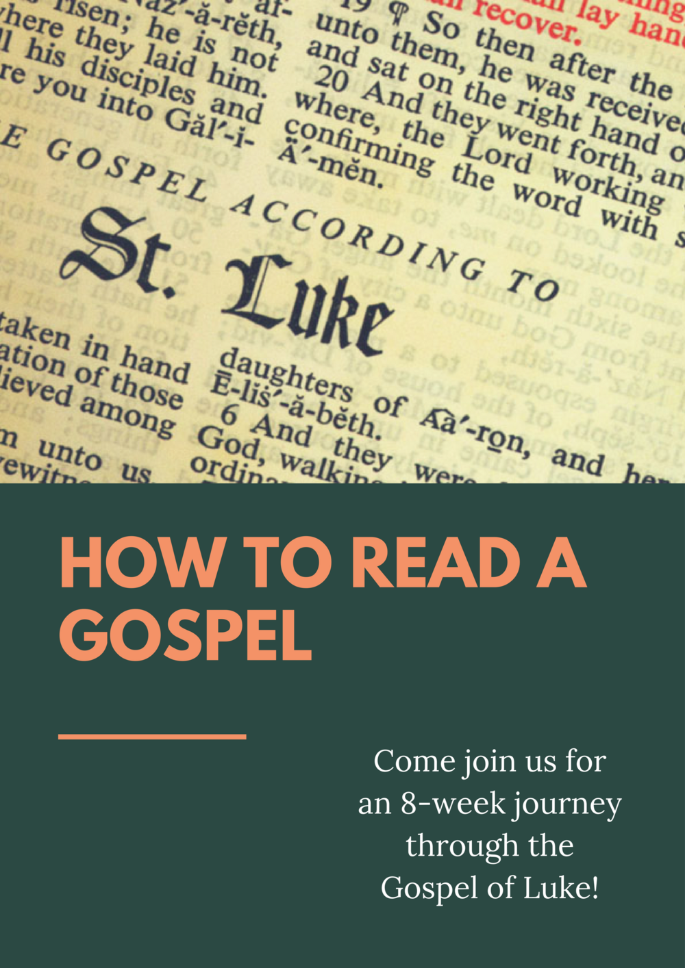 How to Read a Gospel