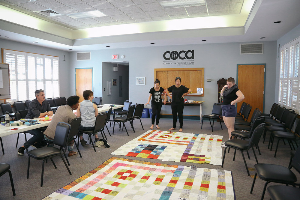 Community Sewing Bee at COCA in Tallahassee, FL