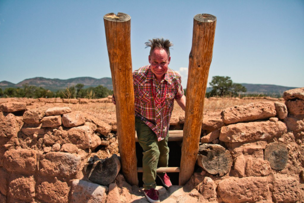 Peter Sellars, the opera's librettist and director, at the Puye Cliff Dwellings on Santa Clara Pueblo land near Española, N.M. CreditChristopher Thompson for The New York Times