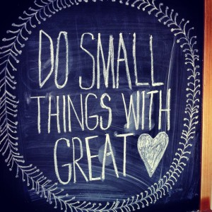 do-small-things