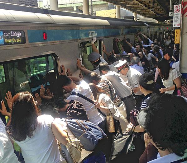 Japan Train Rescue