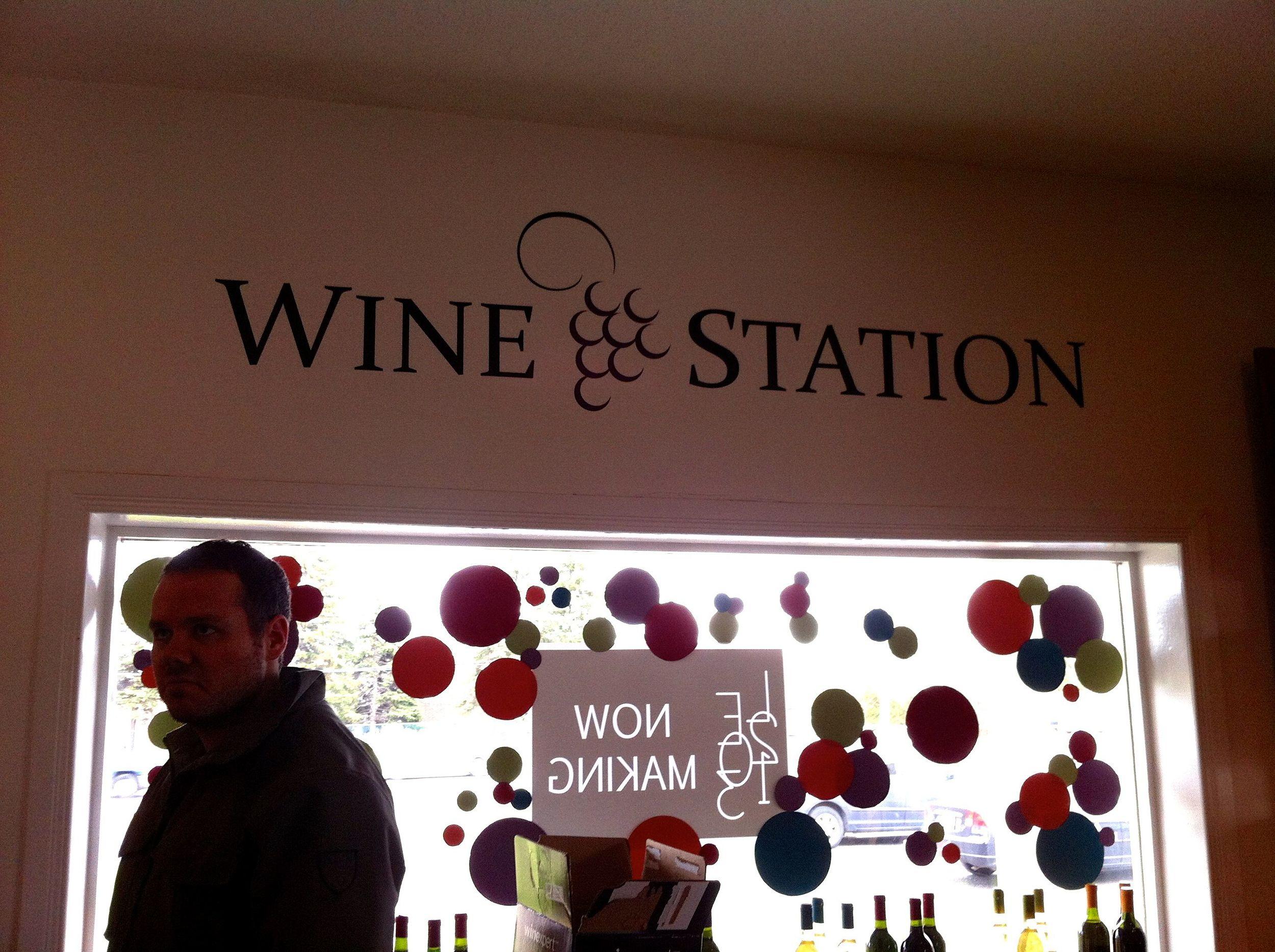 Wine-station