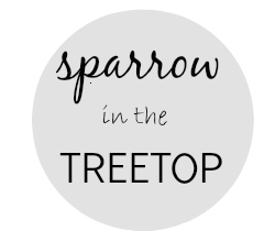 Sparrow in the Tree Top