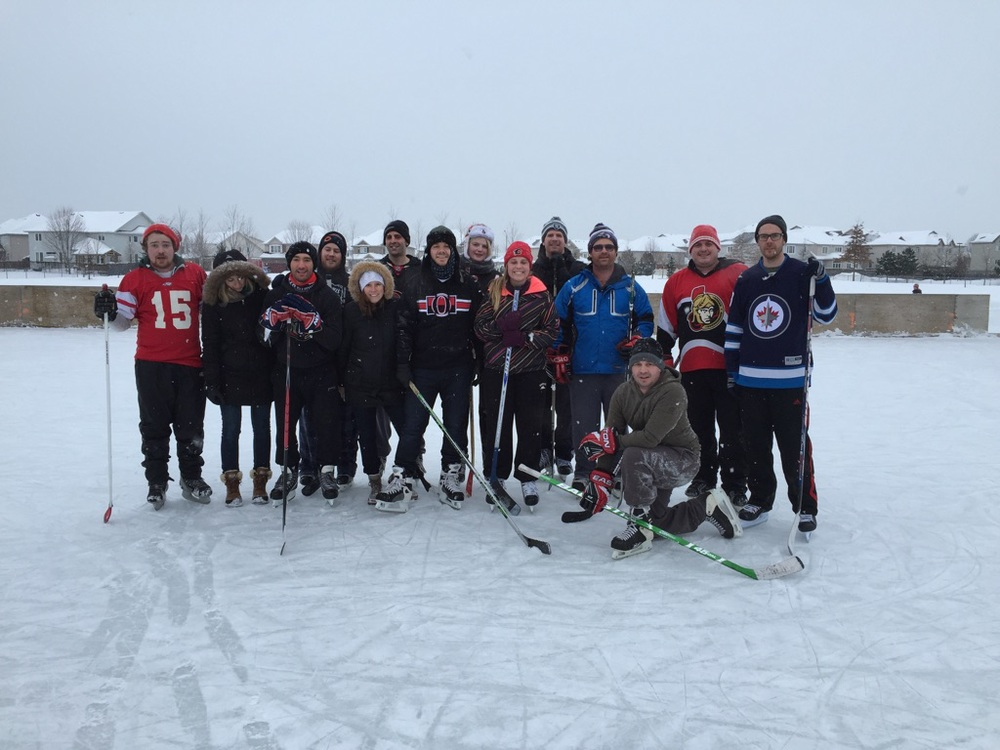 Outdoor-hockey