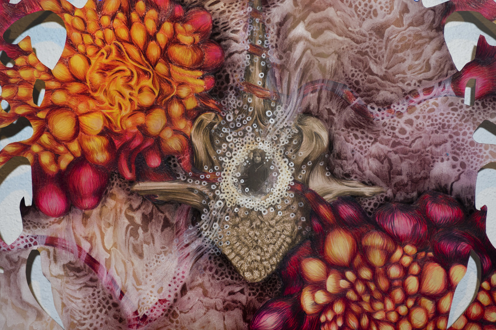 Specular Reverie II, Detail, 2014