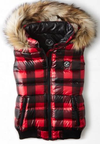 The mid-1990s in Aspen are bag with puffer vests. Guard your internal organs.