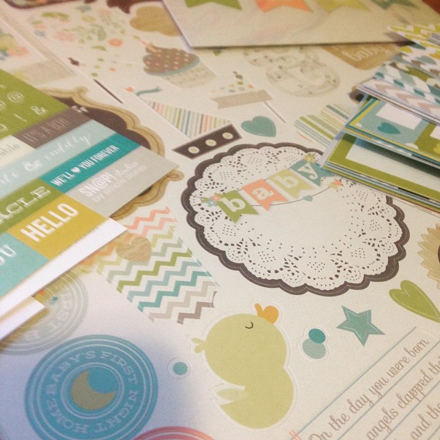 On Scrapbooking With Less Michelle Locke