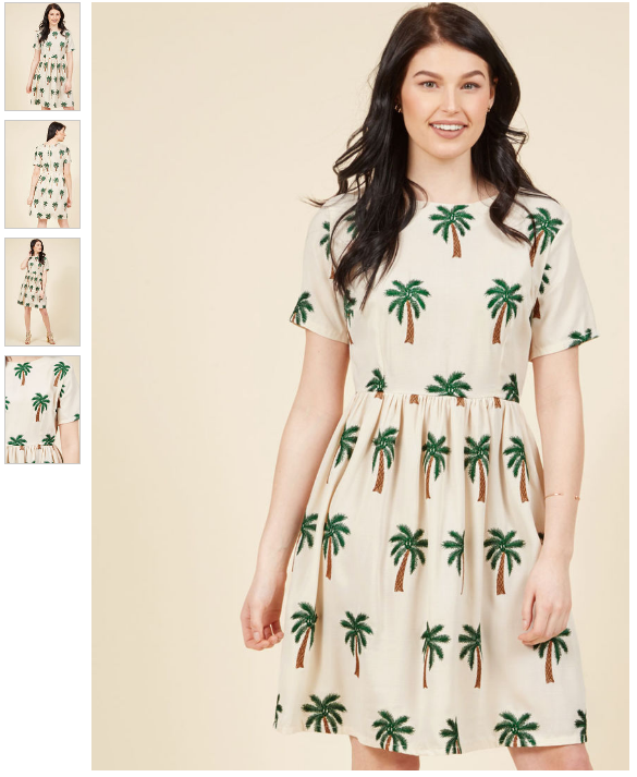 cute palm spring dress coachella