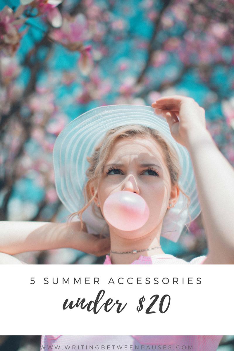 summer accessories under $20