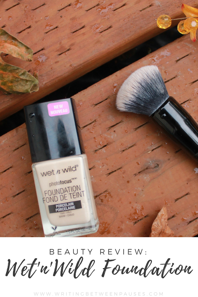 Beauty Review Wet N Wild Photo Focus Foundation Michelle Locke