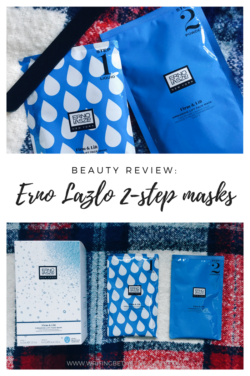 Beauty Review: Erno Lazlo Firm & Lift Masks* | Writing Between Pauses