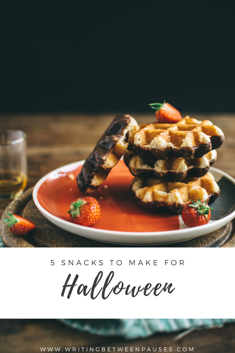 5 Snacks to Make For Halloween | Writing Between Pauses