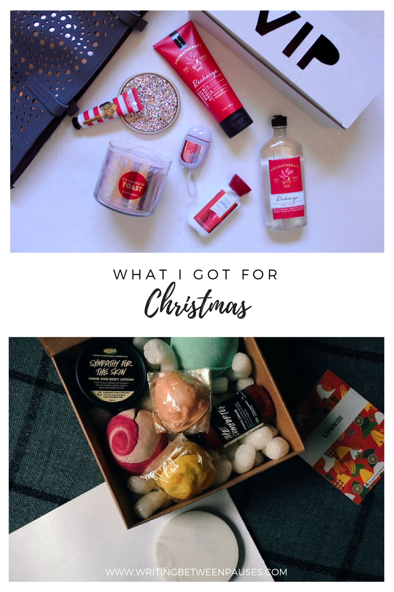 What I Got For Christmas | Writing Between Pauses