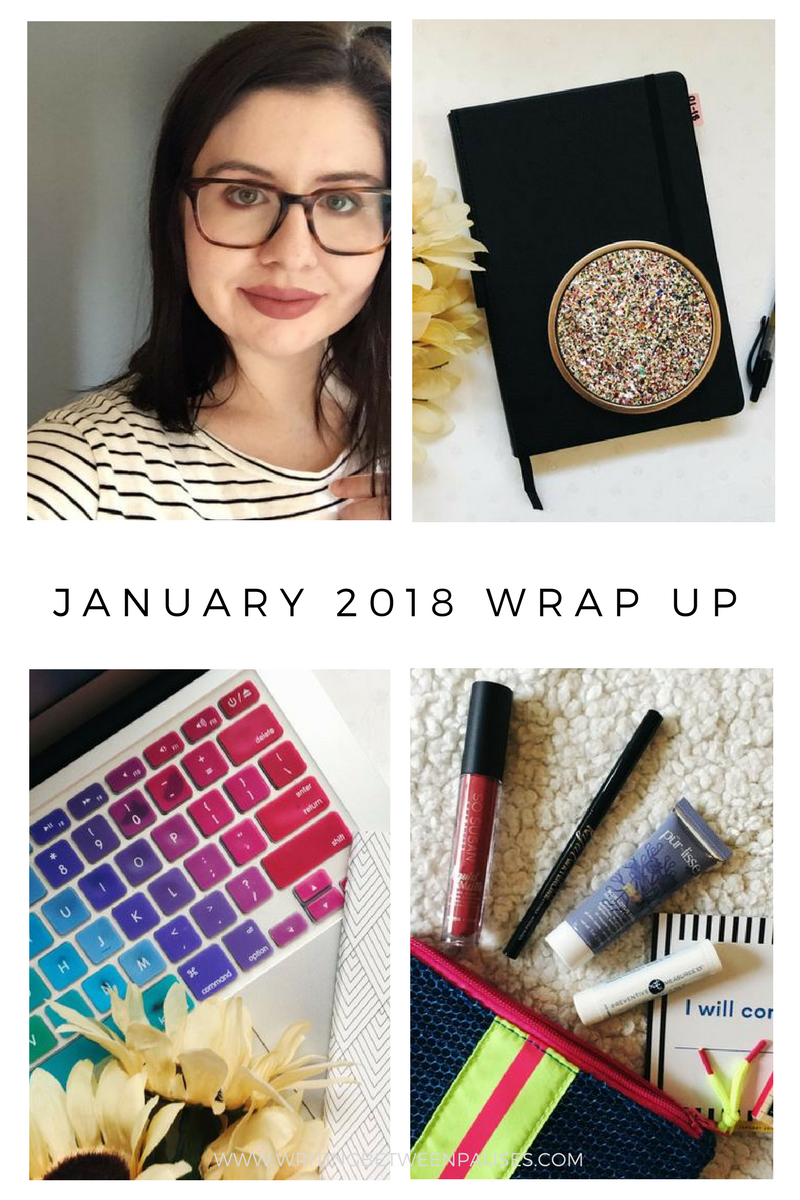 My January Wrap Up | Writing Between Pauses