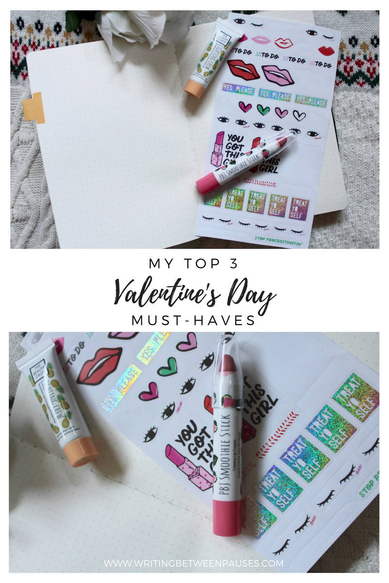 My Top 3 Valentine's Day Beauty Must-Haves | Writing Between Pauses