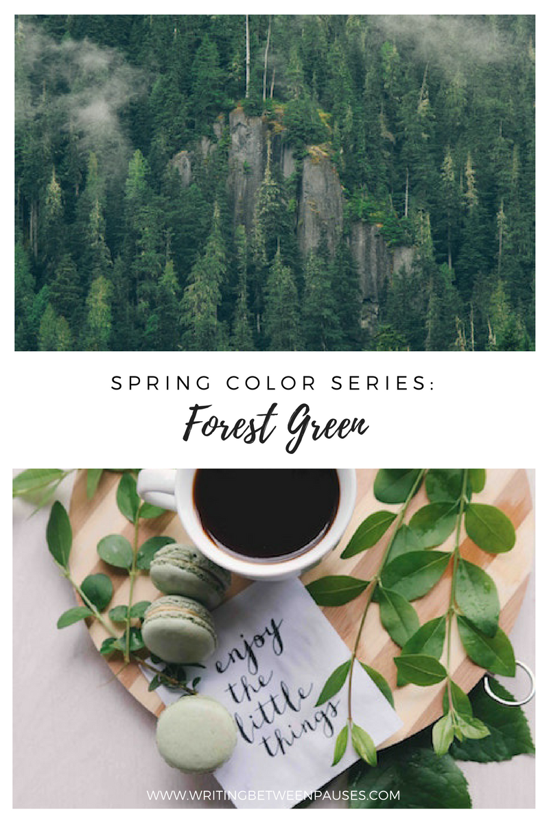 spring color series forest green michelle locke