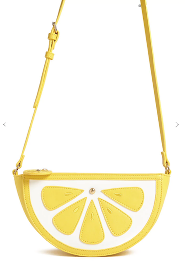 Forever 21 lemon bag