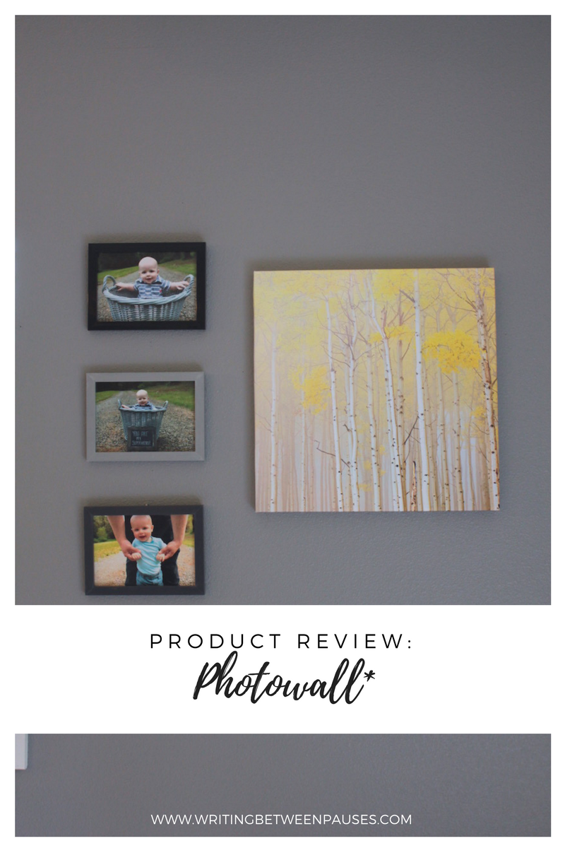 Product Review: Photowall* | Writing Between Pauses