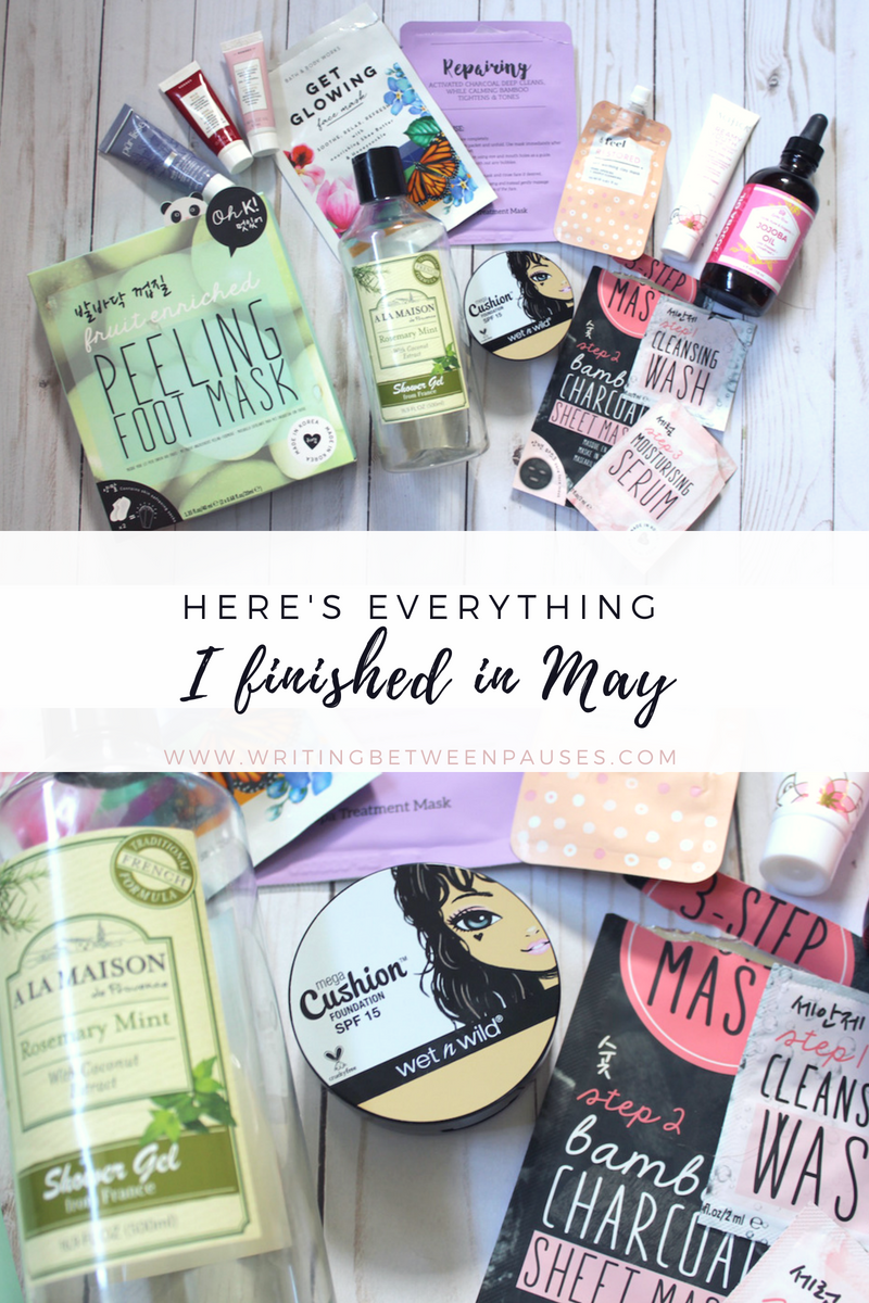 Here's Everything I Finished in May | Writing Between Pauses