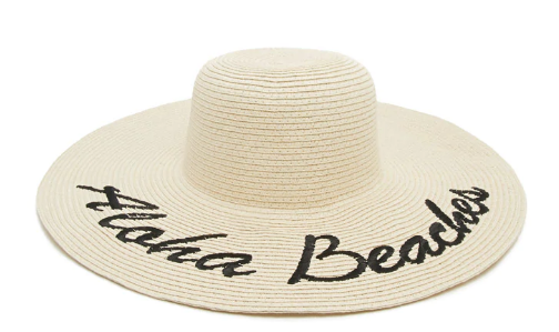 Aloha Beaches Graphic Sun Hat