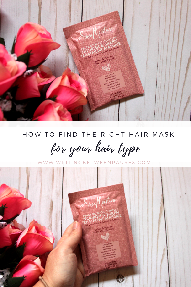 How to Find the Right Hair Mask for Your Hair Type | Writing Between Pauses