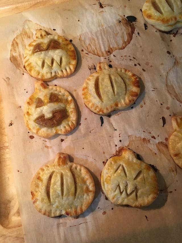 Simple Pumpkin Hand Pies