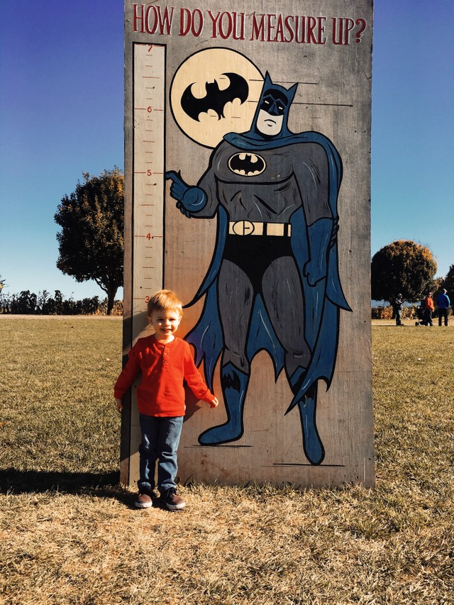 Batman and Pumpkins