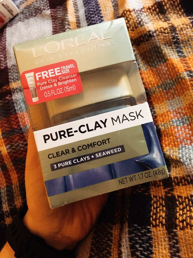L'Oreal Paris Clay Mask Blue