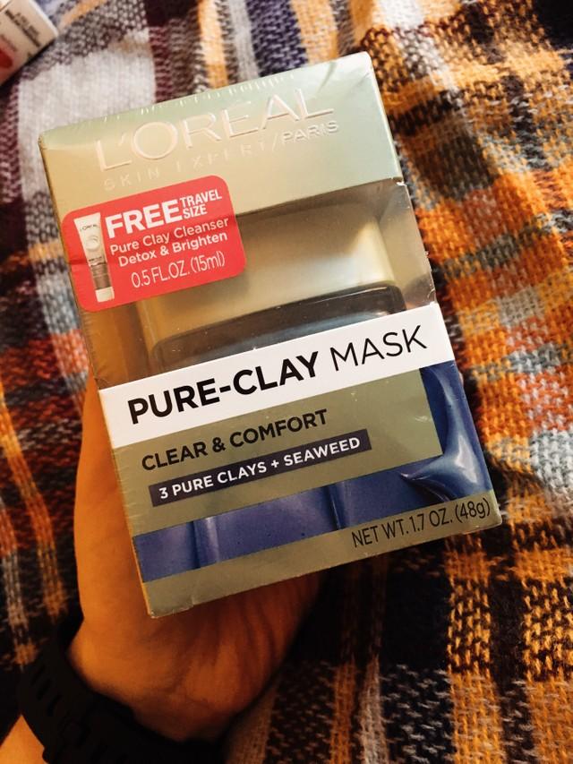 L'Oreal Paris Clay Mask Blue