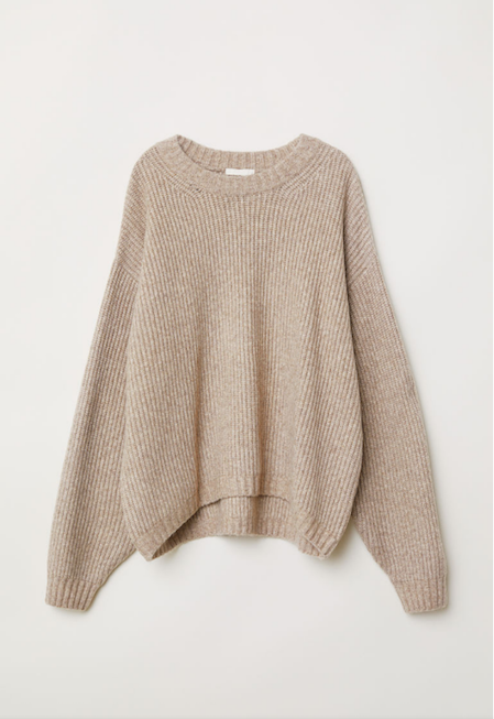 H&M Autumn Sweater | Writing Between Pauses