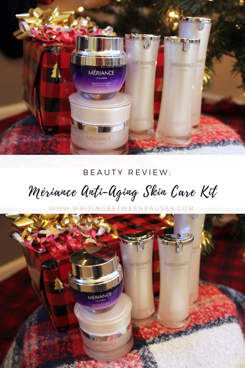 Beauty Review: Mériance Anti-Aging Skin Care Kit | Writing Between Pauses