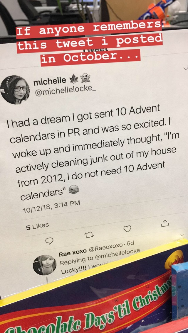 Advent Tweet
