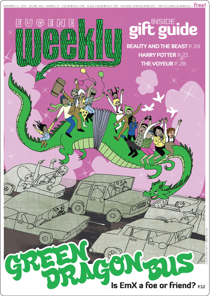 EUGENE WEEKLY cover art