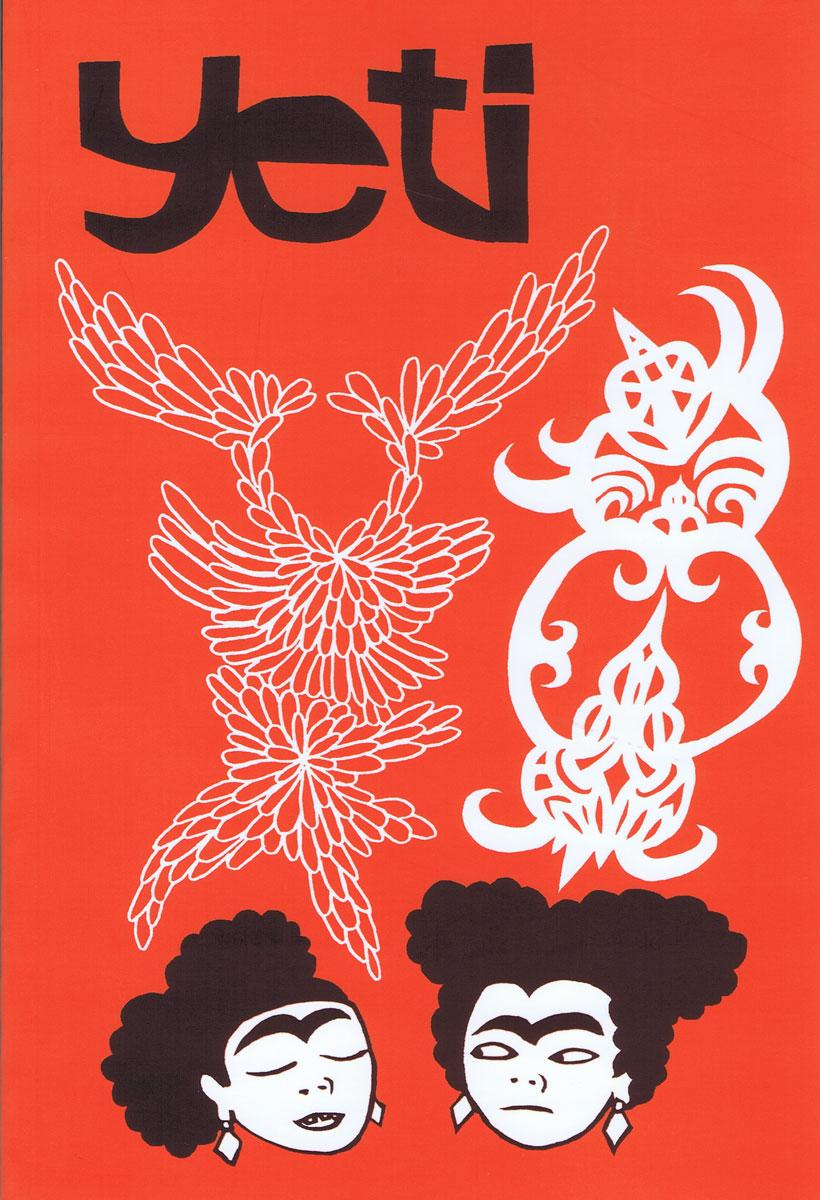 YETI  Issue 9cover art