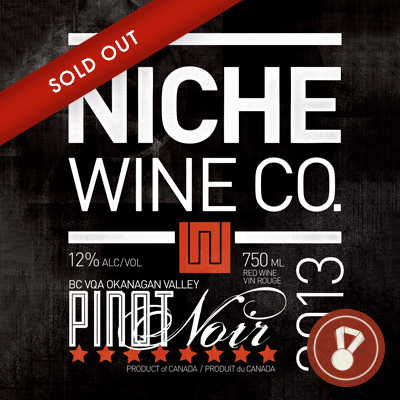2013 Pinot Noir Award: WineAlign | Silver Medal CLICK FOR DETAILS  >